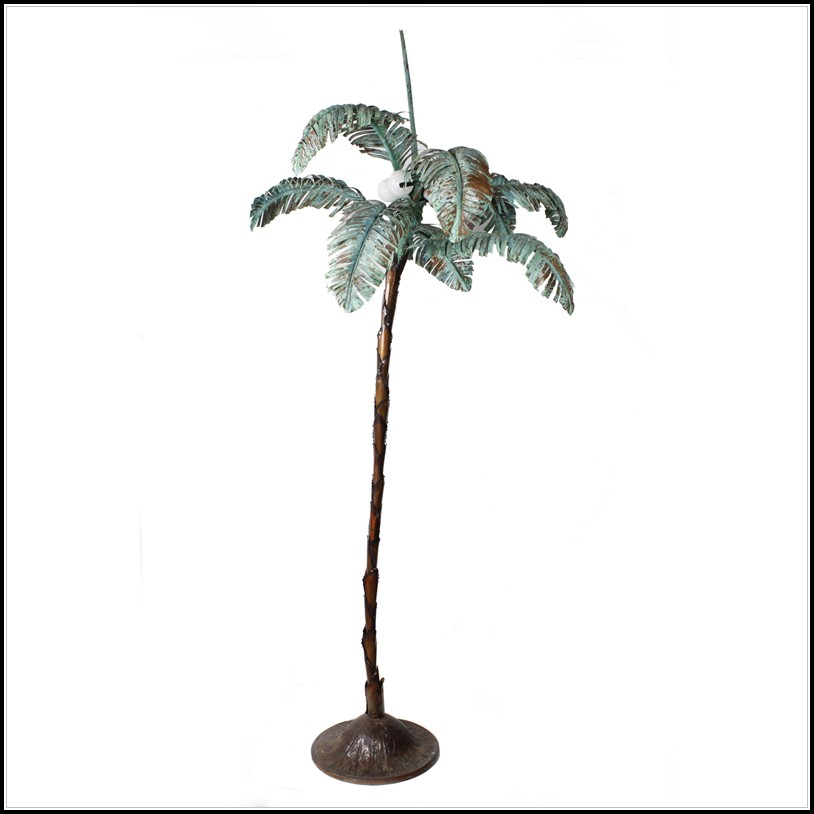 Outdoor Palm Tree Floor Lamp