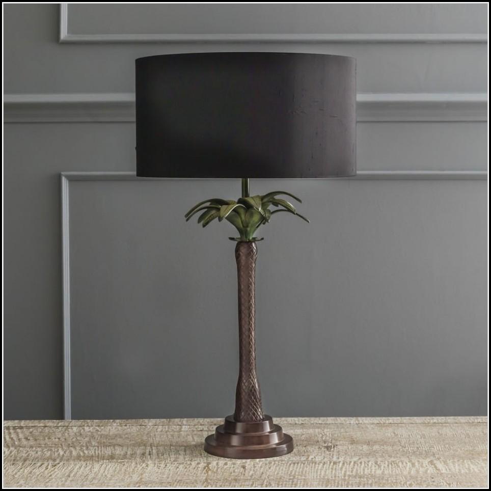 Palm Tree Table Lamp Lighting