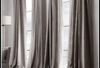 Restoration Hardware Linen Curtains