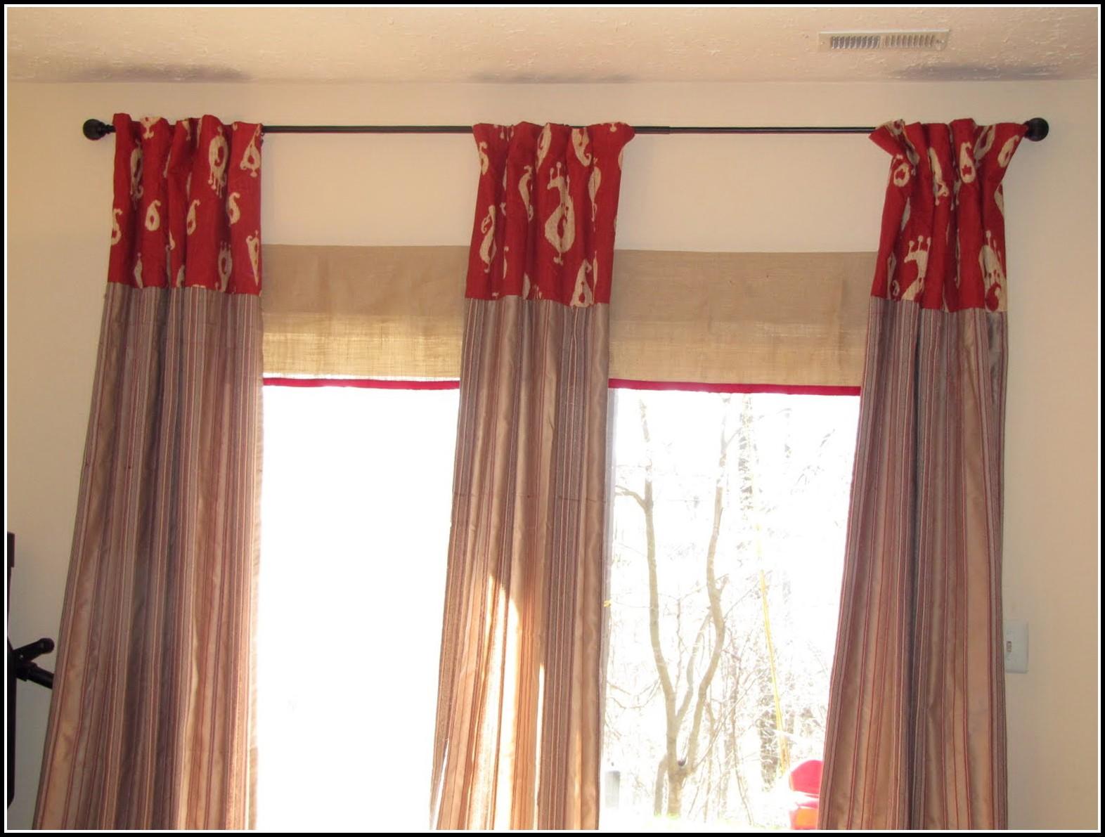 Exceptionnel Sliding Door Curtains Target