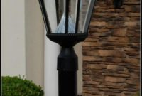 Solar Lamp Post Light Fixture