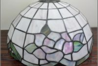 Stained Glass Lamp Shade Caps