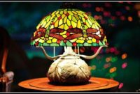 Stained Glass Table Lamps Australia