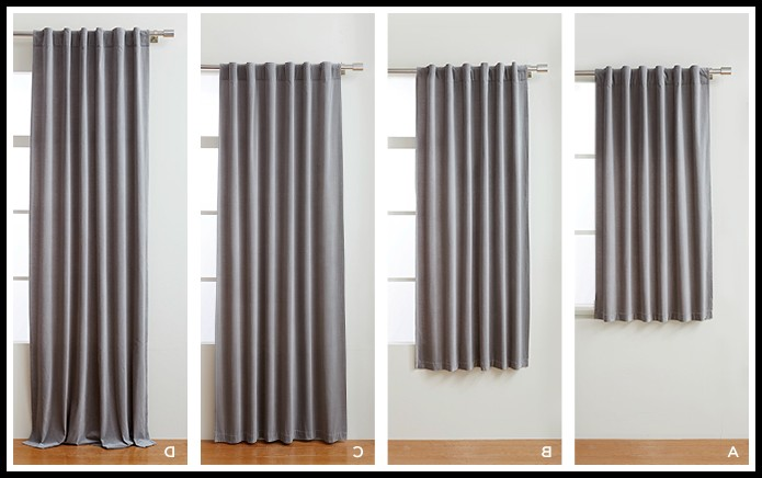 Standard Curtain Sizes In India Curtains Home