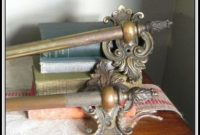 Vintage Brass Curtain Rods