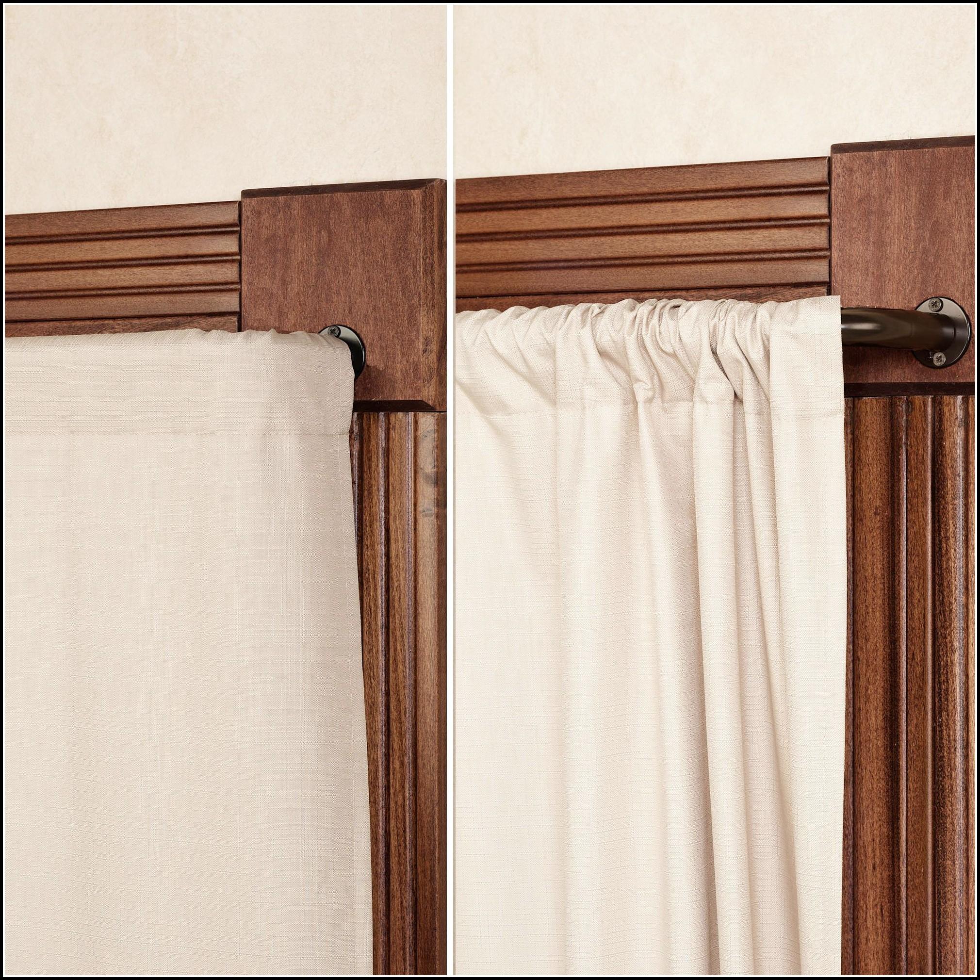 Wrap Around Curtain Rod