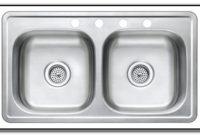 33 X 19 Kitchen Sink Stainless Steel
