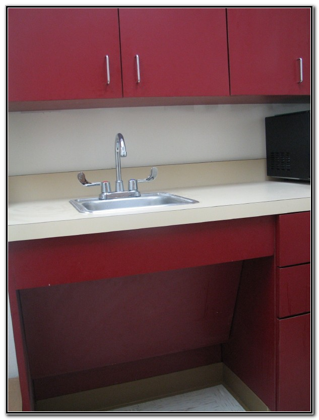 Ada Compliant Kitchen Sink Cabinet Sink And Faucets