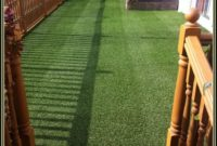 Artificial Grass Rug For Patio