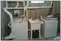 Basement Utility Sink With Pump