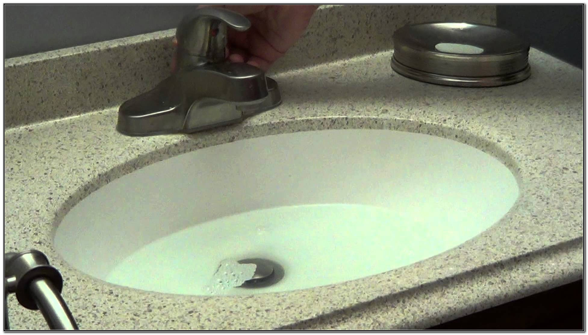 How To Unclog A Bathroom Sink With Standing Water | Bathroom Sink Drain Clogged Standing Water Sink And