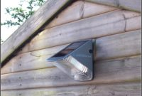 Battery Powered Light For Shed