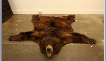 Bear Skin Rugs With Head