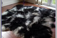 Black Sheepskin Rug Uk