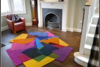 Bright Multi Colored Area Rugs