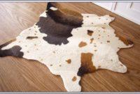 Brown Cow Skin Rug