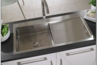 Brushed Stainless Steel Sink