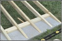 Building A Ramp For A Shed