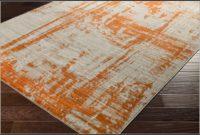 Burnt Orange Area Rug