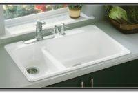 Cast Iron Enameled Sinks