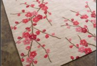 Cherry Blossom Rug Pottery Barn