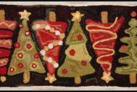 Christmas Tree Rug Runner