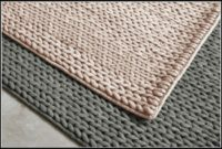Chunky Braided Wool Rug Restoration Hardware