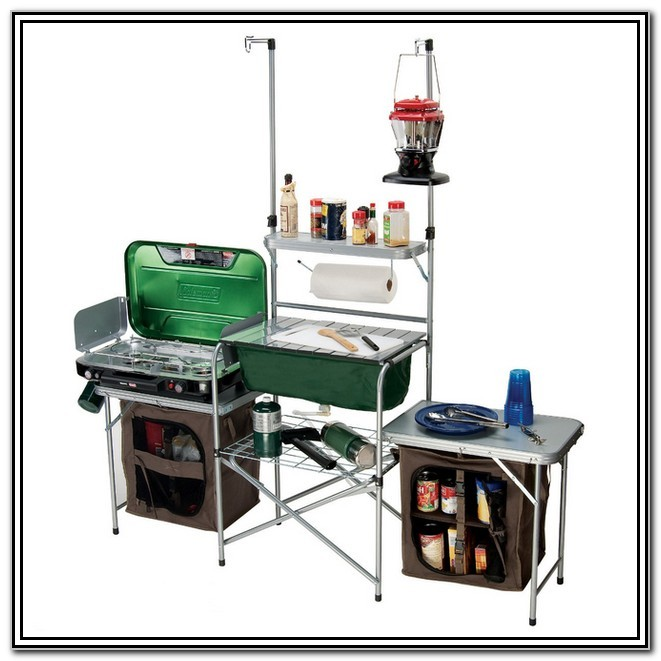 Camp Kitchen With Sink: Coleman Camping Kitchen With Sink