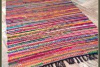 Cotton Rag Rugs Washable