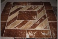 Cow Hide Rug On Wall