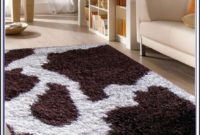 Cow Print Rug For Nursery