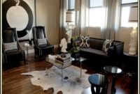 Cow Skin Rug Living Room