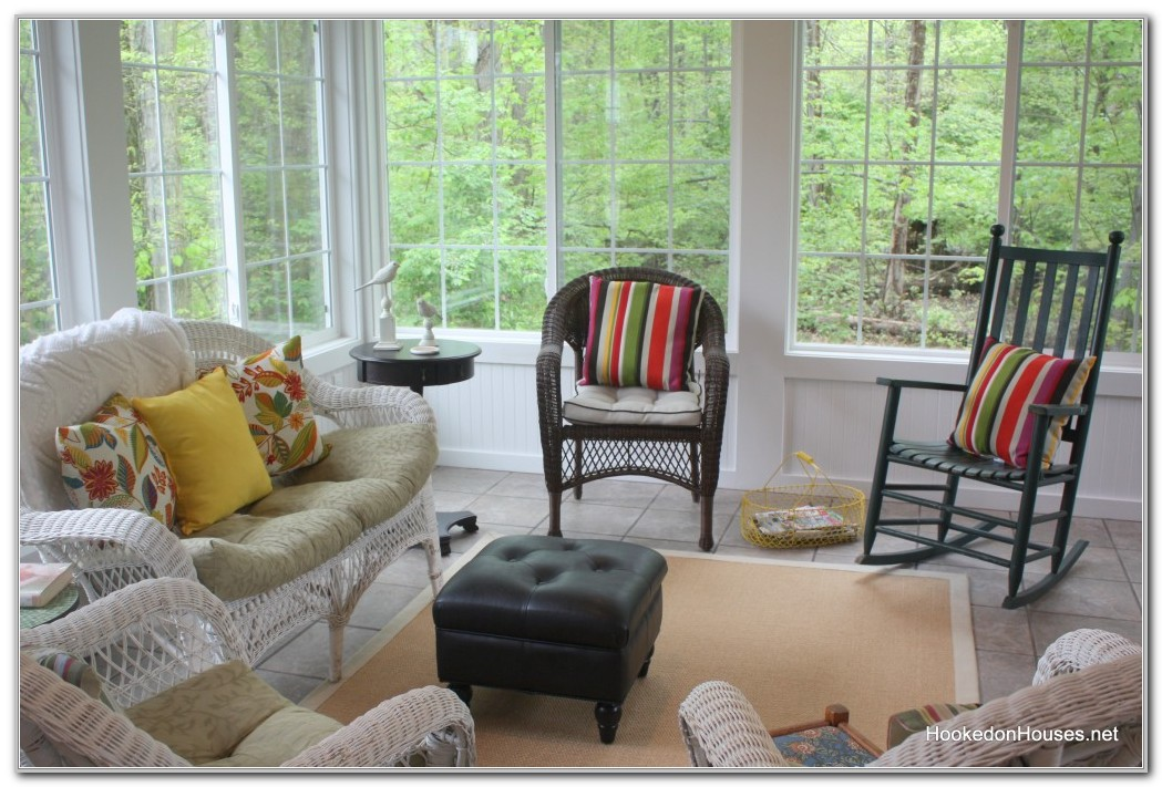 Decorating A Yellow Sunroom Sunrooms Home Decorating Ideas