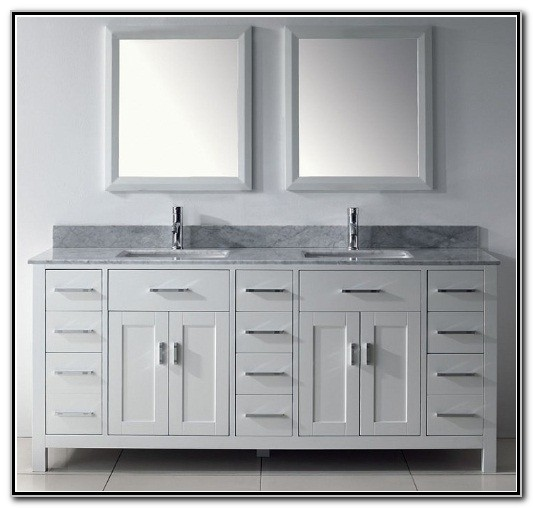 Double Sink Bathroom Vanity Cabinets 72 Sink And Faucets Home