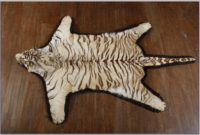 Fake Tiger Skin Rug With Head