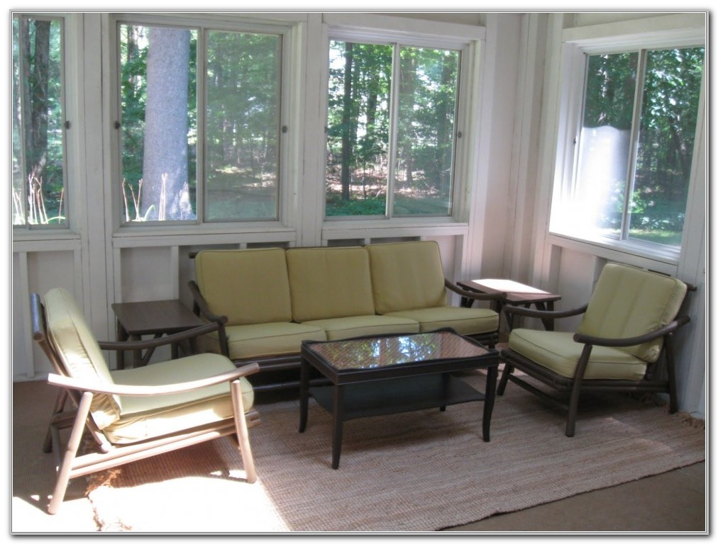 Furniture Ideas For Small Sunroom