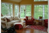 Furniture Layout For Sunroom