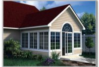 Gabled Sunroom Addition Plans