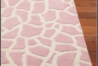 Giraffe Print Rug Pottery Barn