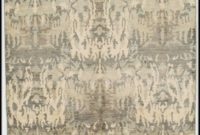 Grey And Tan Area Rug