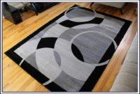 Grey Area Rug 5x7