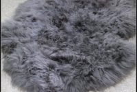 Grey Sheepskin Rug Australia