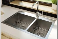 Hammered Brushed Nickel Kitchen Sink