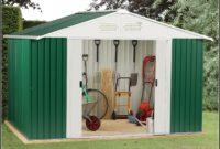 Heavy Duty Steel Garden Sheds