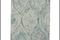 Ikat Ivory Blue Area Rug By Safavieh