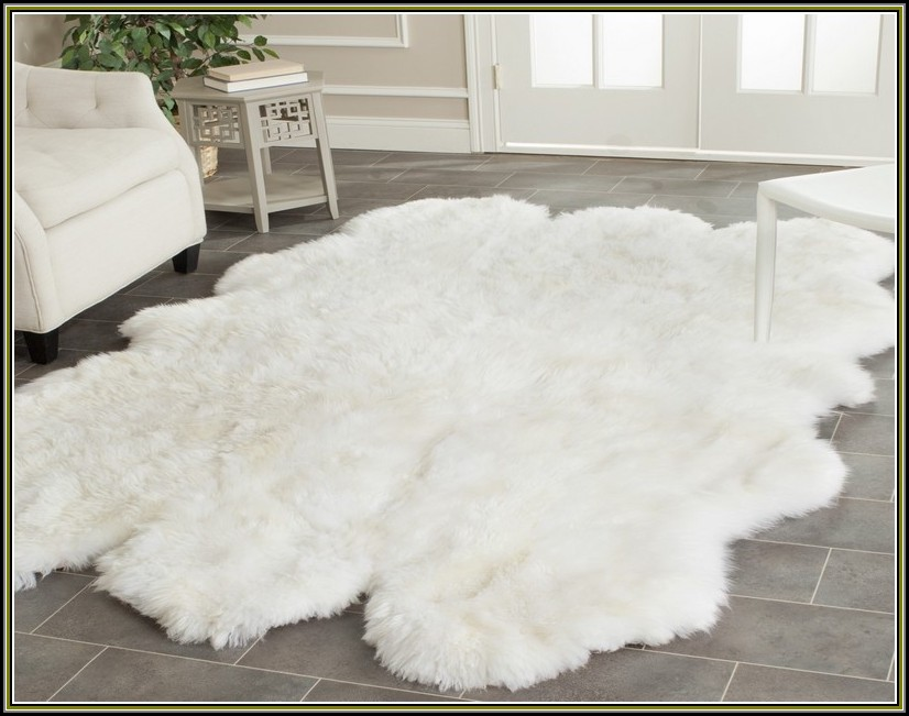 Ikea Sheepskin Rug Large