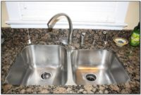 Install Soap Dispenser Kitchen Sink