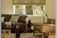 Jute Rug Grey Sofa