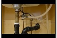 Kitchen Sink Drain Replacement Youtube