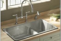 Kohler Undermount White Kitchen Sink